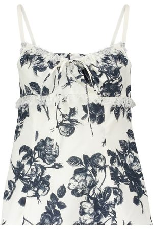 BROCK COLLECTION Siria floral cotton camisole