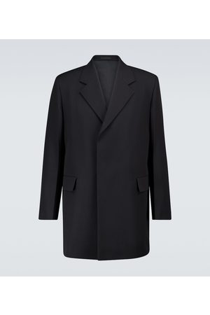 Jil Sander Wool single-breasted overcoat