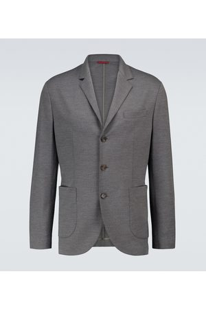 Brunello Cucinelli Single-breasted linen blazer
