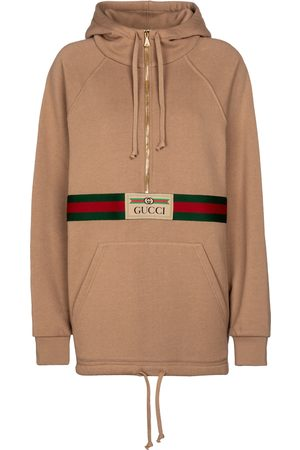 Gucci Logo cotton hoodie