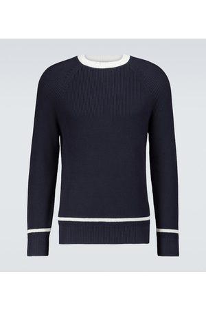 Brunello Cucinelli Stripe-detailed cotton sweater