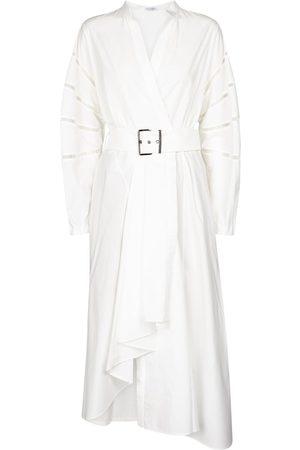 Brunello Cucinelli Embellished cotton shirt dress
