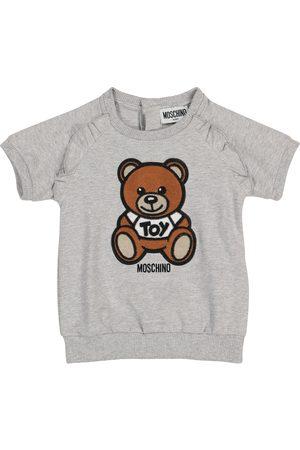Moschino Niemowlę Sukienki - Baby stretch-cotton jersey dress