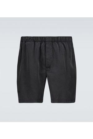 Bottega Veneta Szorty - Silk twill shorts