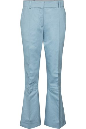 Marni Cotton and linen flared pants