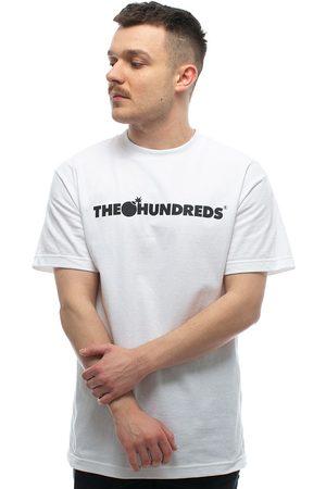 Z krótkim rękawem - The Hundreds Forever Bar Logo Tee (F19P101001-1201)