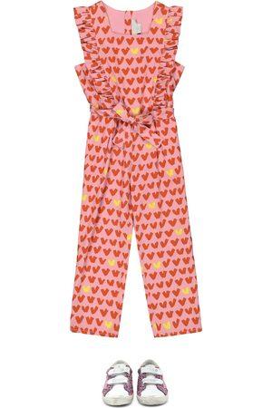Stella McCartney Heart-print jumpsuit