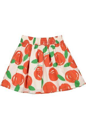 Stella McCartney Clementine-print cotton skirt