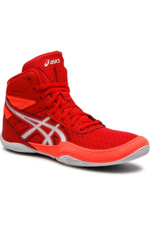 Asics Buty - Matflex 6 Gs 1084A007 Red/Flash Coral