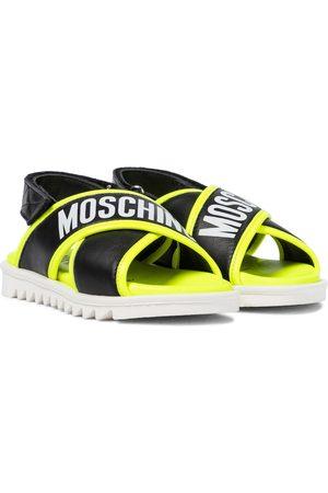 Moschino Dziewczynka Sandały - Leather sandals