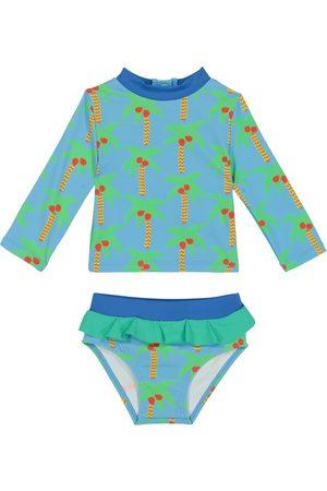 Stella McCartney Stroje kąpielowe - Baby rashguard swim set