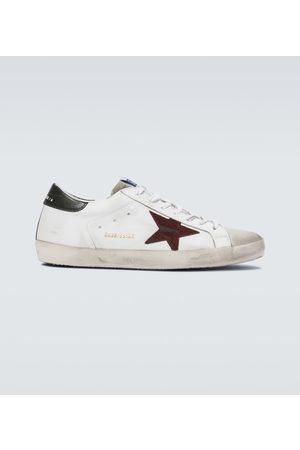 Golden Goose Sneakersy - Distressed Superstar sneakers