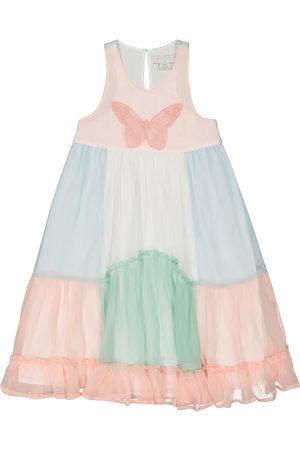 Stella McCartney Dziewczynka Sukienki - Silk georgette dress