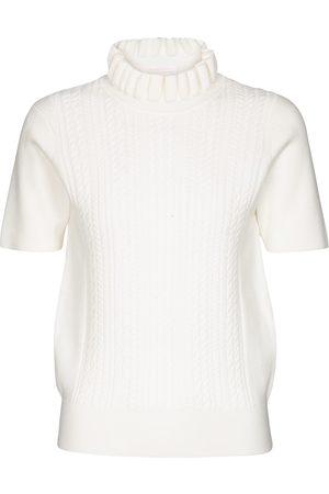 Chloé Kobieta Golfy - Cable-knit turtleneck top
