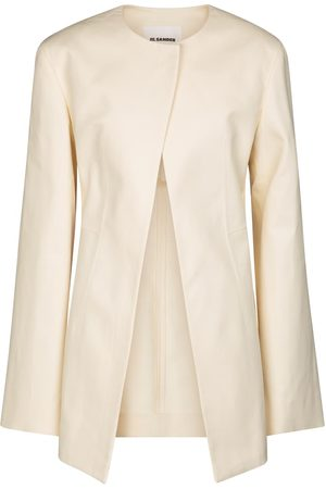 Jil Sander Kobieta Kurtki - Tailored cotton jacket
