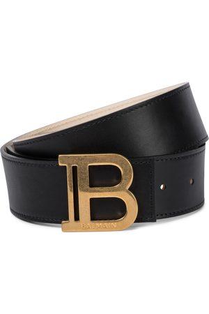 Balmain B-Belt leather belt