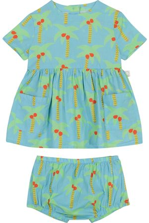 Stella McCartney Niemowlę Sukienki z nadrukiem - Baby printed dress and bloomers set