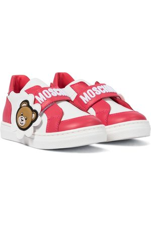 Moschino Dziewczynka Sneakersy - Leather sneakers