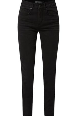 Drykorn Jeansy z wysokim stanem o kroju skinny fit z dodatkiem streczu model 'Wet'
