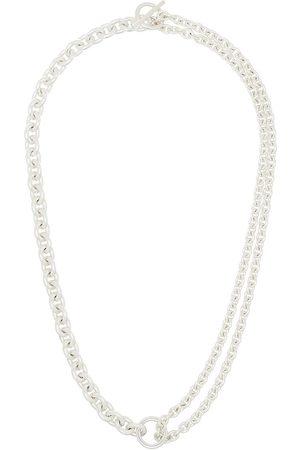 ALL BLUES Mężczyzna Naszyjniki - Sterling chain-link necklace