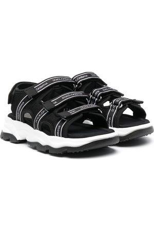 Dolce & Gabbana Chłopiec Sandały - Black