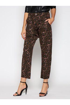 ONE TEASPOON Jeansy Boyfriend Leopard Sinner 23486 Relaxed Fit