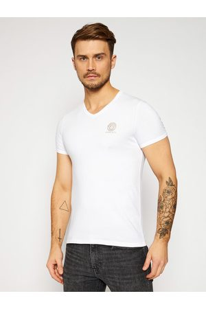 VERSACE Mężczyzna Z krótkim rękawem - T-Shirt Scollo AUU01004 Regular Fit