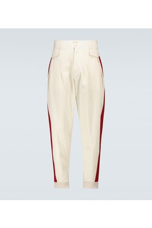Maison Margiela Spodnie - Gabardine cotton pants