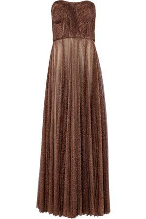 Dolce & Gabbana Lamé tulle gown