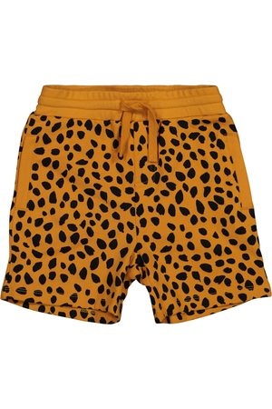 Stella McCartney Cheetah-print cotton shorts