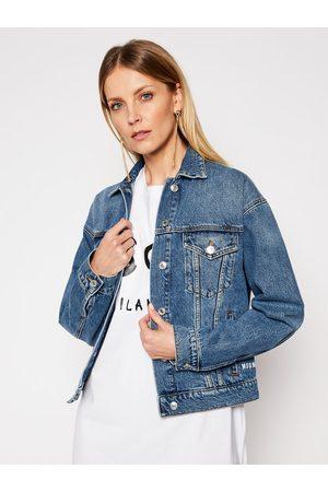 MSGM Kurtka jeansowa 3041MDH41LX 217283 Regular Fit