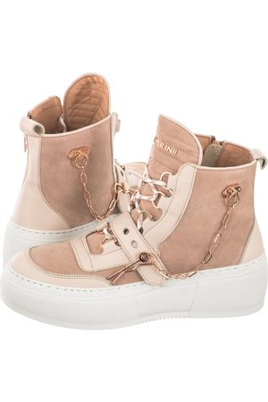 Carinii Kobieta Sneakersy - Sneakersy Beżowe B7051-R25-R30-000-E41 (CI570-a)
