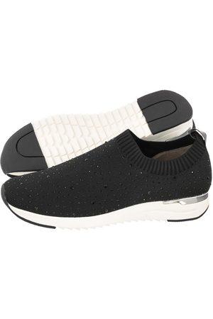 Caprice Kobieta Bluzy - Sneakersy Czarne 9-24700-26 035 Black Knit (CP254-a)