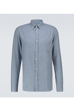 Sunspel Long-sleeved cotton shirt