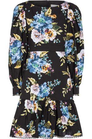 Erdem Kobieta Sukienki z nadrukiem - Rydal floral cotton-poplin minidress