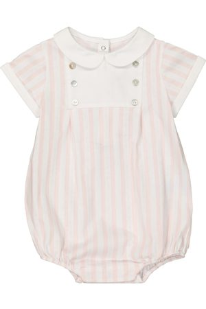 Tartine Et Chocolat Body i Śpioszki - Baby striped cotton onesie