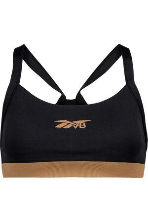 Reebok Kobieta Sportowe - Logo sports bra