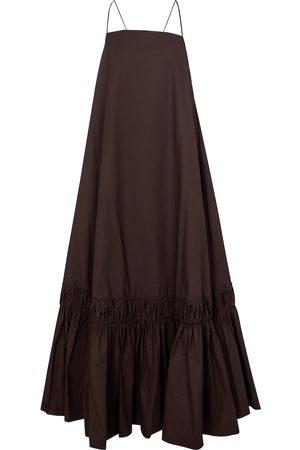 Jil Sander Cotton poplin maxi dress