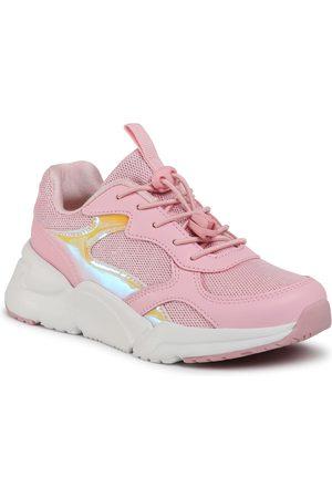 Sprandi Dziewczynka Na plaskiej podeszwie - Buty - CP40-2069Y Pink
