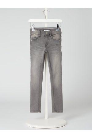 Name it Jeansy o kroju skinny fit z dodatkiem streczu model 'Polly'