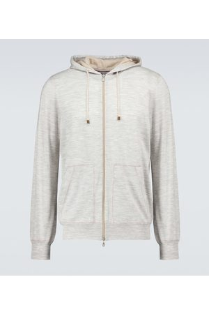 Brunello Cucinelli Zipped hooded sweater