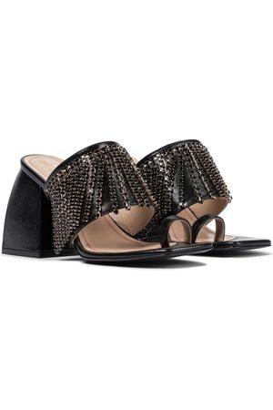 NODALETO Bulla Preston leather sandals