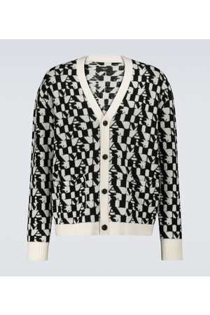 AMIRI Graphic printed cardigan