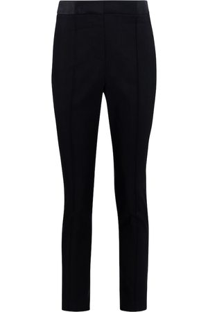 VERONICA BEARD Lago stretch-shantung slim pants