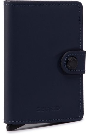 Secrid Mały Portfel Męski - Miniwallet MM Matte Night Blue