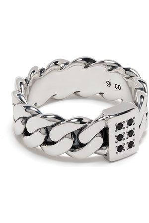 Tom Wood Pierścionki - Plated chain-link ring