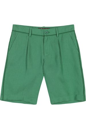 Loro Piana Chłopiec Bermudy - Bermuda Solaire linen shorts