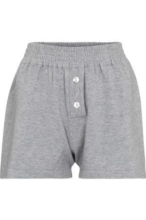 LIVE THE PROCESS Kobieta Szorty - Cashmere-blend shorts
