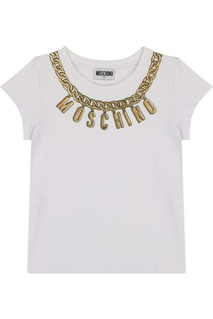 Moschino Logo stretch-cotton T-shirt