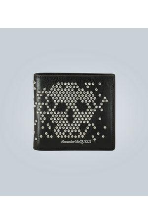 Alexander McQueen Portmonetki i Portfele - Studded Skull wallet